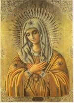Локотская икона Пресвятой Богородицы «Умиление»