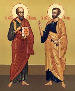 ковчег с частицами мощей святых первоверховных апостолов Петра и Павла